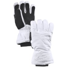 Spyder Opal Gore-Tex® Ski Gloves - Waterproof, PrimaLoft® (For Women) in White - Closeouts