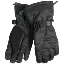 Spyder Overweb Gore-Tex® Ski Gloves - Waterproof, Insulated (For Men) in Black/Black - Closeouts