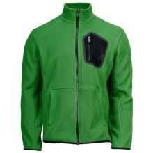 Spyder Paramount Core Sweater - Midweight, Full Zip (For Men) in Classic Green/Black - Closeouts