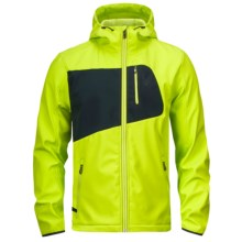 Spyder Patsch Jacket - Soft Shell (For Men) in Sharp Lime/Black - Closeouts