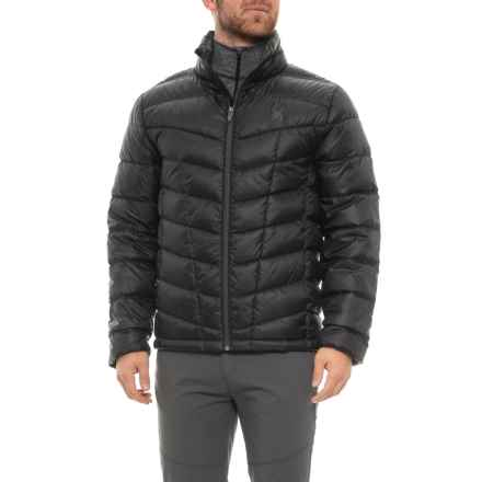 Spyder Pelmo Down Jacket - 550 Fill Power (For Men) in Black - Closeouts
