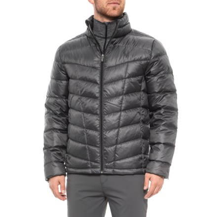 5bc4e1ce Spyder Pelmo Down Jacket - 550 Fill Power (For Men) in Polar - Closeouts