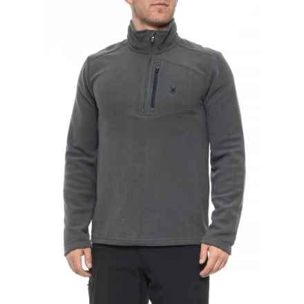 Spyder Polar Transport Fleece Pullover Shirt - Zip Neck, Long Sleeve (For Men) in Polar - Closeouts