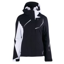 Spyder Prevail Ski Jacket - Insulated (For Women) in Black/White - Closeouts