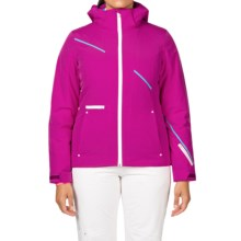 Spyder Prevail Thinsulate® Ski Jacket - Waterproof, Insulated, Relaxed Fit (For Women) in Wild/White/Riviera - Closeouts