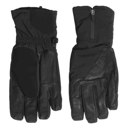 Spyder PrimaLoft® Cortina Ski Gloves - Waterproof, Insulated (For Men) in Black - Closeouts