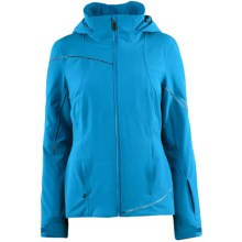 Spyder Project Athletic Fit Ski Jacket - Waterproof, Thinsulate® (For Women) in Coast - Closeouts