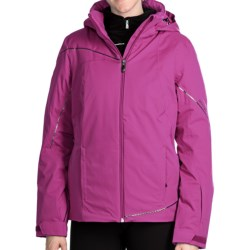 Spyder Project Ski Jacket - Waterproof, Insulated (For Women) in Sassy Pink