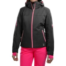 Spyder Project Thinsulate® Ski Jacket - Waterproof, Insulated, Relaxed Fit (For Women) in Black/Wild/Orycle Print - Closeouts