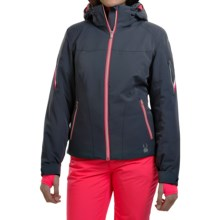 Spyder Project Thinsulate® Ski Jacket - Waterproof, Insulated, Relaxed Fit (For Women) in Depth/Bright Pink/White - Closeouts