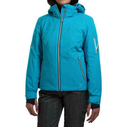 Spyder Project Thinsulate® Ski Jacket - Waterproof, Insulated, Relaxed Fit (For Women) in Riviera/White/Depth - Closeouts