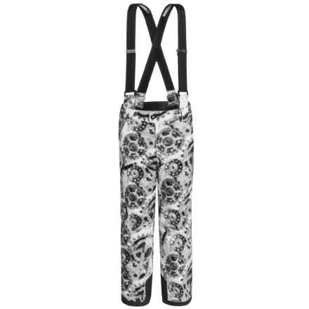 Spyder Propulsion Ski Pants - Waterproof, Insulated (For Big Boys) in X-Ray Polar Print - Closeouts