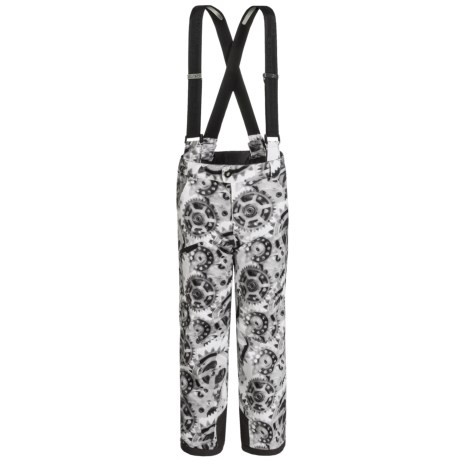 Spyder Propulsion Ski Pants - Waterproof, Insulated (For Big Boys) in X-Ray Polar Print