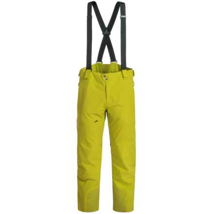 Spyder Propulsion Ski Pants - Waterproof, Insulated (For Men) in Sulfur - Closeouts