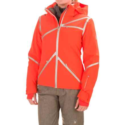 Spyder Radiant PrimaLoft® Ski Jacket - Waterproof, Insulated (For Women) in Burst/White/Burst - Closeouts
