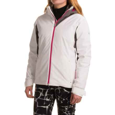 Spyder Rebel 3-in-1 Jacket - Waterproof, Insulated (For Women) in White/Weld/Voila - Closeouts