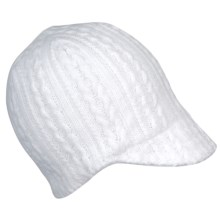 Spyder Renaissance Hat - Fleece Lined (For Women) in White - Closeouts