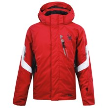 Spyder Rival Jacket - Insulated (For Boys) in Red/Black/White - Closeouts