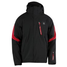 Spyder Rival Jacket - Waterproof, Insulated (For Men) in Black/Red - Closeouts