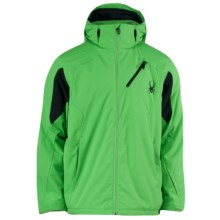 Spyder Scout Jacket - Insulated (For Men) in Classic Green/Black - Closeouts