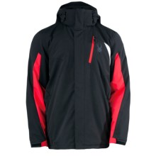 Spyder Sentinel Jacket - Insulated (For Men) in Black/Red/White - Closeouts