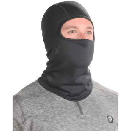Spyder Shelter Balaclava (For Men) in Black - Closeouts
