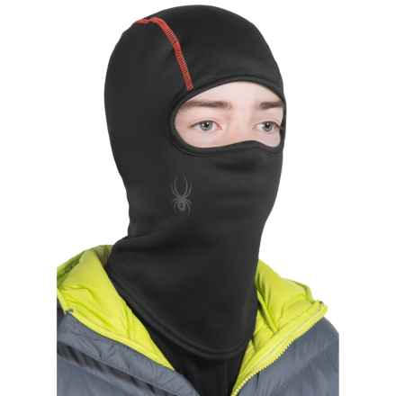 Spyder Shield Balaclava (For Little and Big Kids) in Black/Red - Closeouts