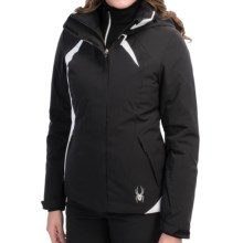 Spyder Siren Ski Jacket - Insulated (For Women) in Black/White - Closeouts