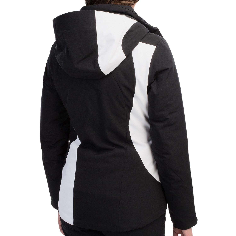White/Black 8568W_2 Spyder Siren Ski Jacket - Insulated (For Women