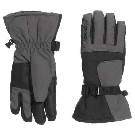 Spyder Ski Gloves - Insulated (For Kids) in 069 Polar - Closeouts