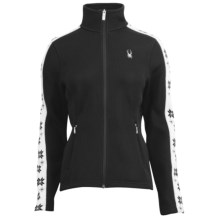 Spyder Snowflake Sweater Jacket (For Women) in Black - Closeouts
