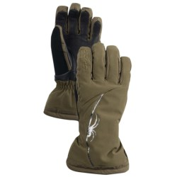 Spyder Spark Gore-Tex® Ski Gloves - Waterproof, Insulated (For Women) in Sergeant