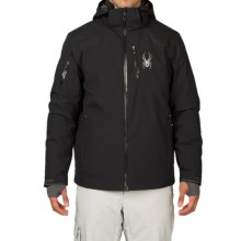 Spyder Squaw Valley Ski Jacket - Waterproof, Insulated (For Men) in Black/Polar/Polar - Closeouts