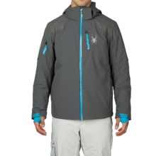 Spyder Squaw Valley Ski Jacket - Waterproof, Insulated (For Men) in Polar/Concept Blue/Electric Blue - Closeouts