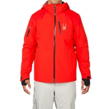 Spyder Squaw Valley Ski Jacket - Waterproof, Insulated (For Men) in Volcano/Polar/Black - Closeouts