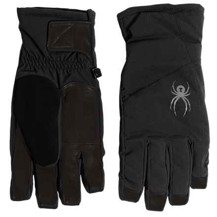 Spyder Sweep Ski Gloves - Waterproof, Insulated (For Men) in Black - Closeouts