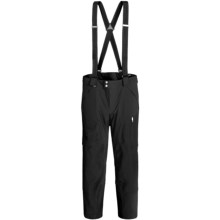 Spyder Swytch Ski Pants - Waterproof, Insulated, Athletic Fit (For Men) in Black/Black - Closeouts