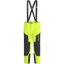 Spyder Swytch Ski Pants - Waterproof, Insulated, Athletic Fit (For Men) in Bright Yellow/Black - Closeouts