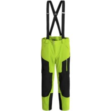 Spyder Swytch Ski Pants - Waterproof, Insulated, Athletic Fit (For Men) in Theory Green/Black - Closeouts