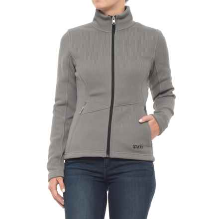 Spyder Tabor Full Zip Midweight Sweater (For Women) in Smoked - Closeouts