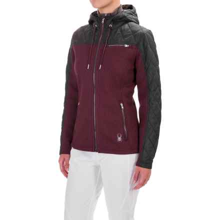 Spyder Thinsulate® Ardour Jacket - Hooded (For Women) in Fini/Black - Closeouts