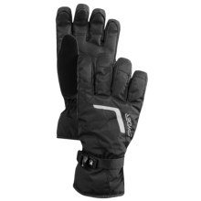 Spyder Traverse Gore-Tex® Ski Gloves - Waterproof, Insulated (For Men) in Black/Black/Black - Closeouts