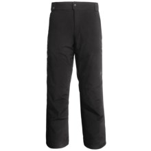Spyder Trench Ski Pants - Insulated (For Men) in Black - Closeouts