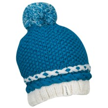 Spyder Twisty Beanie Hat (For Women) in Coast - Closeouts
