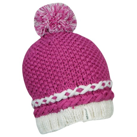 Spyder Twisty Beanie Hat (For Women) in Sassy Pink