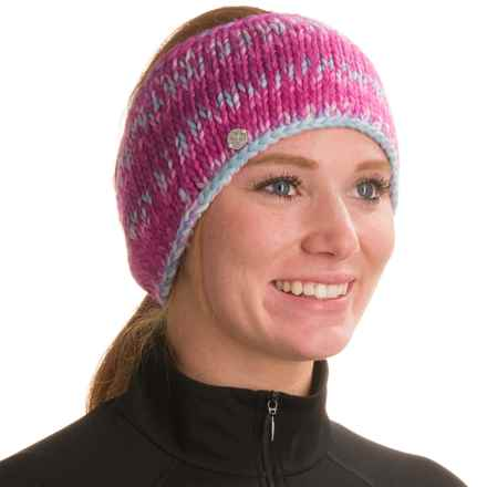 Spyder Twisty Knit Headband (For Women) in Voila/Multi Color - Closeouts