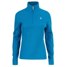 Spyder Valor Sweater - Midweight, Zip Neck (For Women) in Coast - Closeouts
