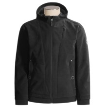 Spyder Vicious Corduroy Jacket - Insulated Soft Shell (For Men) in Black / Black - Closeouts