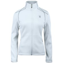 Spyder Virtue Sweater Jacket (For Women) in White - Closeouts