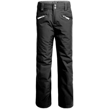 Spyder Vixen Athletic Pants - Waterproof, Insulated (For Big Girls) in Black - Closeouts